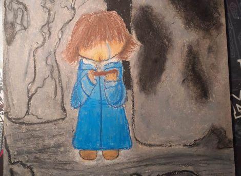 Djevojčica u plavom kaputiću (1)