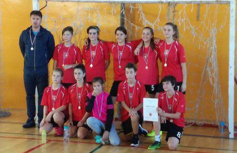 Gradsko natjecanje djevojcice futsal