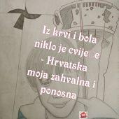 Iz krvi i bola niklo je cvijeće - Hrvatska moja zahvalna i ponosna, šk. g. 2020. - 2021.