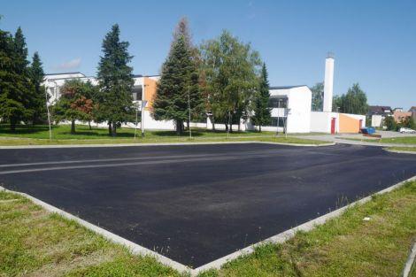Uređeno parkiralište