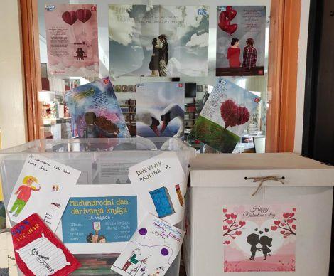 Valentinovo - Međunarodni dan darivanja knjigom