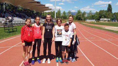 zupanijsko natjecanje iz Atletike